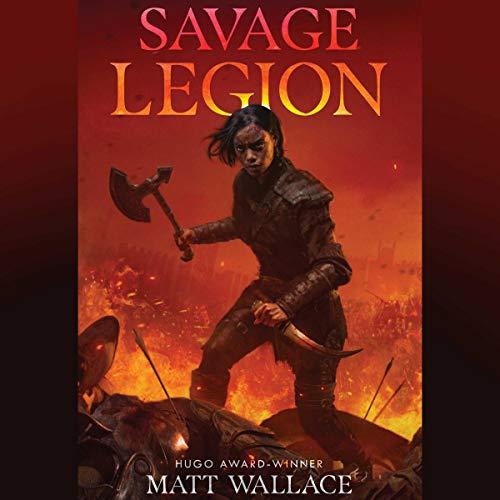 Savage Legion audiobook cover art