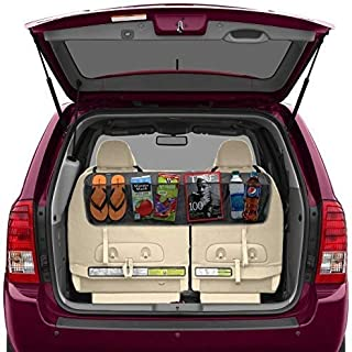 Betzila Car Back Seat Storage Organizer Car Hanging Bag (Black)