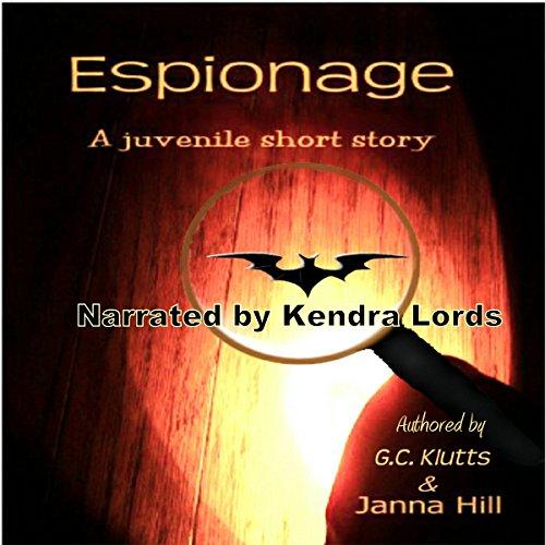 Espionage audiobook cover art