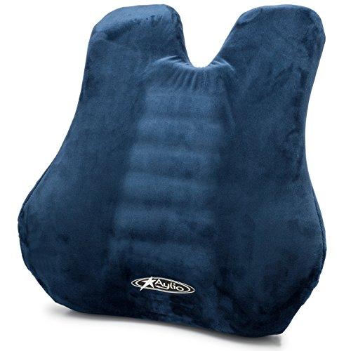 Aylio Back Cushion | Memory Foam Lumbar Support...