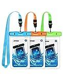 Mpow 024 Funda Impermeable, Universal IPX8 Funda Impermeable para Teléfono Bolsa Protectora...
