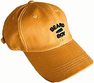 YAKADLY Male and Female Caps Street Summer Sunshade Baseball Cap 5 (Color : Yellow)