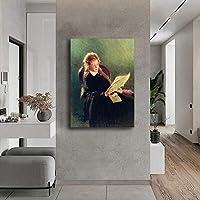 Ilya Repin印象派絵画キャンバスアートパネルワーク版画リビング部屋壁装飾壁アートパネルIlya Repinポスター玄関壁画像50x70cmフレームレス