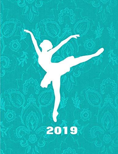 Ballerina 2019 Daily Planner: Ballerina Silhouette