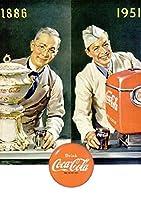 263F 1951年のレトロ広告 コカコーラ Coca-Cola Coke