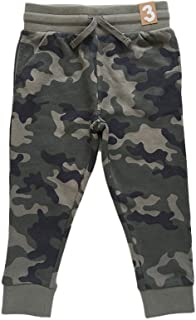 HOSD Modelos de otoño e Invierno Camuflaje Color sólido Multicolor más Pantalones de Terciopelo Pantalones para niños 1-10...