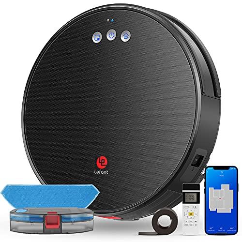 Lefant Robot Vacuum and Mop, Robotic Vacuum...