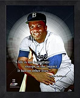 Jackie Robinson Brooklyn Dodgers ProQuotes Photo (Size: 9