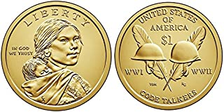 2016 P, D Native American (Sacagawea/Golden) Dollar 2 Coin Set Uncirculated