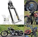 XKH- Compatible with Springer Front End -4' Under Black Harley Davidson sportster bobber chopper Arched [B07M989R6V]