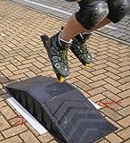 Skaterrampe mit Antirutschmatte Fuer Skateboard Inliner -