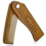 MEDca Folding Wooden Comb