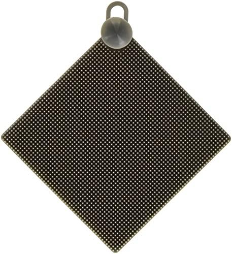 シュガーフェイス シリコンブラシ 四角 グレー W11×H11cm 19194