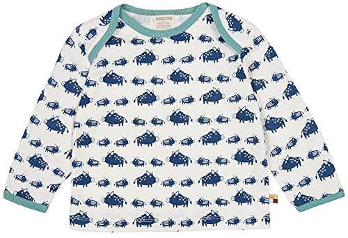 loud + proud Unisex Kinder Druck, GOTS Zertifiziert Baby-und Kleinkind T-Shirt-Satz, Ultramarin, 110/116