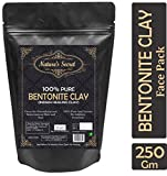 Nature's Secret Bentonite Clay Powder Organic for Clay Mask Detox, Brown, 250 g