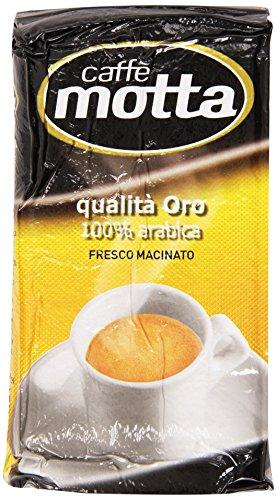 Motta - Cafã©, Qualita Oro 100% Arabica Fresco Macinato - 250 G