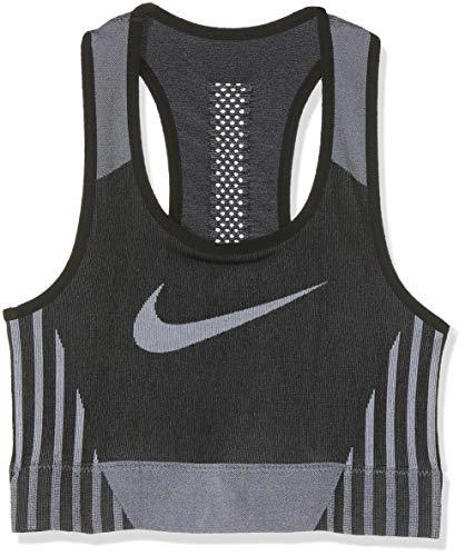 Nike Mädchen G NK FENOM Seamless Sports Bra, Black/White, L