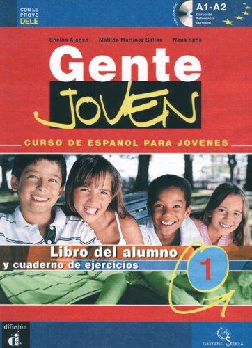 Gente joven. Curso de español para jovenes. Cuaderno de ejercicios-Lettura persecucion in Madrid. Per la Scuola media. Con CD Audio: 1