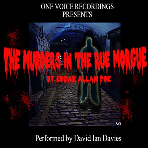 The Murders in the Rue Morgue audiobook cover art