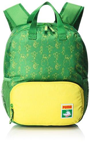 Puma Kinder Backpack Rucksack, online Lime-Blazing Yellow-Tabaluga AOP, 36 x 32 x 4 cm