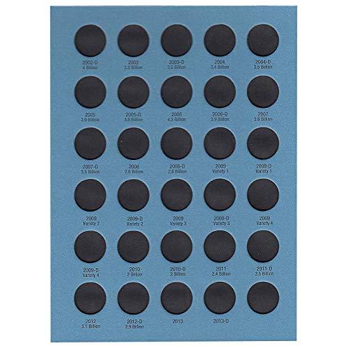 Whitman US Lincoln Cent Coin Folder Volume 3 1975 - 2013 #9033