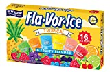 Fla-Vor-Ice Freezer Pops, Fat Free Ice Pops, Tropical Flavors (12 Boxes, 16 - 1.5 oz pops per box)