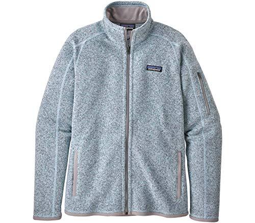 Patagonia Damen W's Better Sweater JKT Weste, Weißdornblau, S