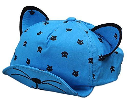 Da.Wa Toddler Baby Kids Boys Garçons Chats Oreilles Baseball Hat Peak Cap Sun Hat