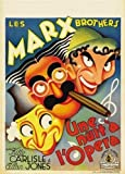 Hotstuff A Night at The Opera (1935) Movie Poster Marx Brothers Vintage Style 12'x18'