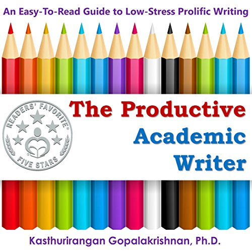 The Productive Academic Writer audiobook cover art