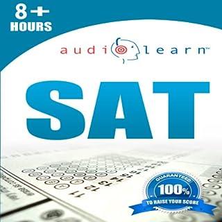 SAT AudioLearn audiobook cover art
