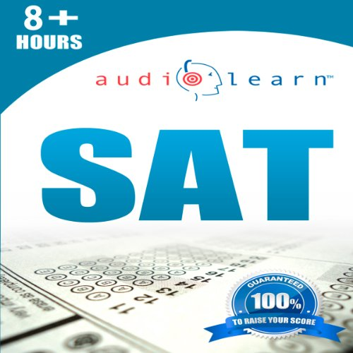 SAT AudioLearn audiobook cover art