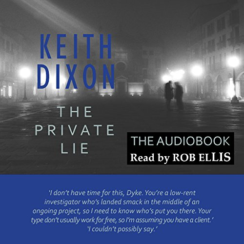 The Private Lie audiobook cover art
