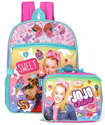 JO Backpack - Jojo Siwa - Rainbow Color w/Lunch Bag 448676