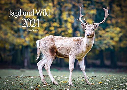 Edition Seidel Jagd und Wild Premium Kalender 2021 DIN A3 Wandkalender Tiere Wald Natur