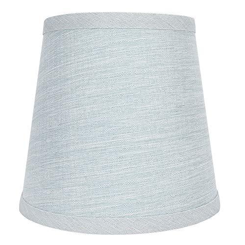 Paralume Paralume in tessuto di lino E14 Telone per uso domestico Arte lampadario paralume da terra paralume di copertura per lampade da tavolo