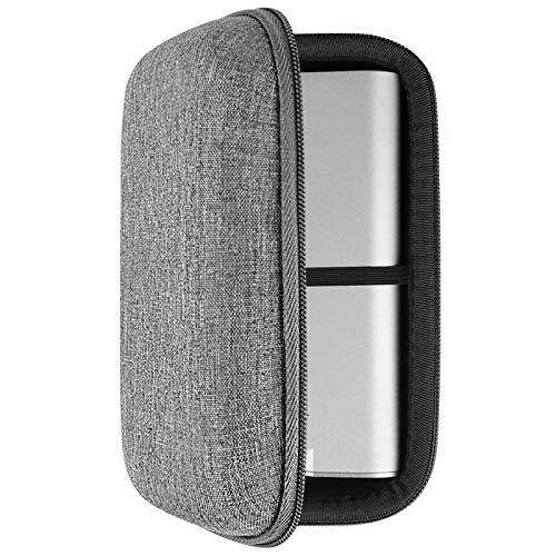 Geekria Kopfhörer-Verstärker Player UltraShell Hülle kompatibel mit Fiio M11 Pro, M11, X7 Mark II, Creative E5, G5, Sony NW-WM1Z, NW-WM1A, Schutztasche mit Platz für Teile (Grau)