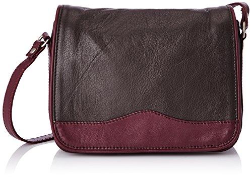 Bensimon Mini Bag Cuir, Damen Umhängetaschen, Rot (Rouge (Bordeaux 403)), onesize