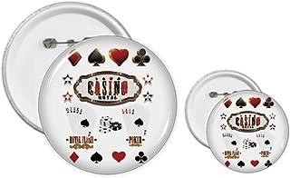 Kit d'ustensiles de jeu pour cartes à jouer, badge, boutons