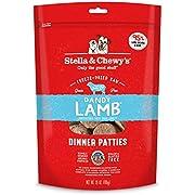 Stella & Chewy's Freeze-Dried Raw Dandy Lamb Dinner Patties Dog Food, 25 oz. Bag, Model:FDL-25