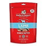 Stella & Chewy's Freeze-Dried Raw Dandy Lamb Dinner Patties Dog Food, 25 oz. Bag