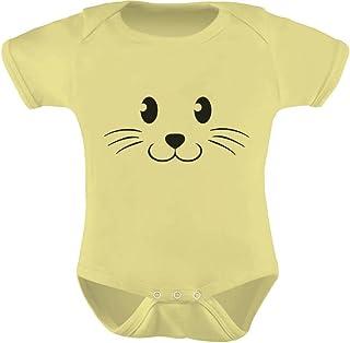 Tstars - Cute Face Halloween Easy Costume Infant Bodysuit Baby Bodysuit