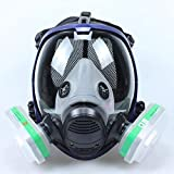 Best Gas Masks - WHYIT Head Mask Full Face Ventilative Biochemical Review