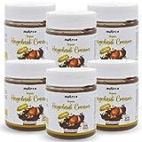 Veganer Protein-Aufstrich mit nur 0,1g Zucker pro Portion und 22% Eiweiß - 6er-Pack - Vegan Schokolade Nuss...