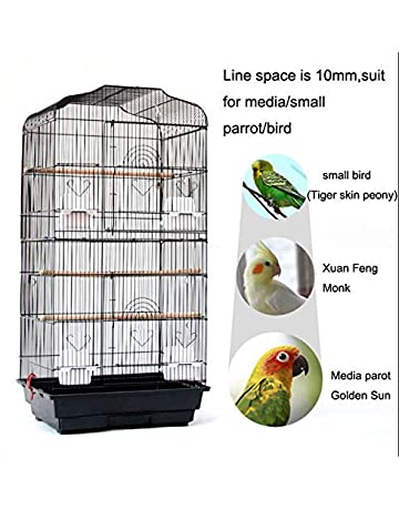 FLAMEER 20 Pcs Retaining Fitting Lock Catch for Parrot Bird Nest Cages Random Color