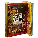 Calledelregalo Libro de tu año de Nacimiento, Libro de la década de los 50 con Tarjeta Personalizada - Regalo para cumpleaños - Otras Edades Disponibles