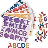 Elfen und Zwerge - Aufkleber Alphabet - Sticker ABC - 156 Buchstaben zum Basteln & Beschriften - selbstklebend - 6 Bögen