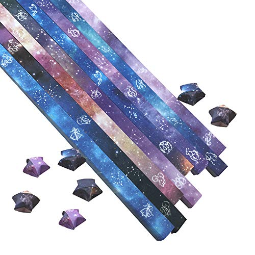 1100 Sheets Origami Stars Paper 8 D…