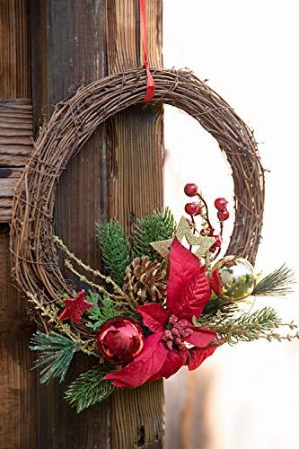 Corona de Navidad Heitmann Deco – Corona de puerta de