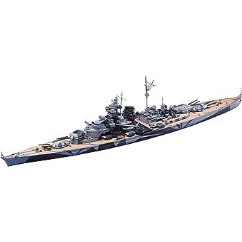 青島文化教材社 1/700 ウォーターラインシリーズ ドイツ海軍 戦艦 ティルピッツ プラモデル 619
